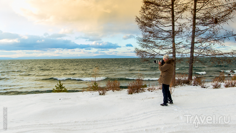 Волны, снег и камень / Фото из России