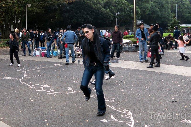 Танцы Рокабилли в Токио / Фото из Японии