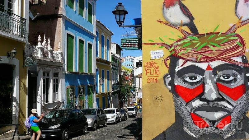 Бразильская колониальность. Сальвадор. Во время чемпионата мира / Фото из Бразилии