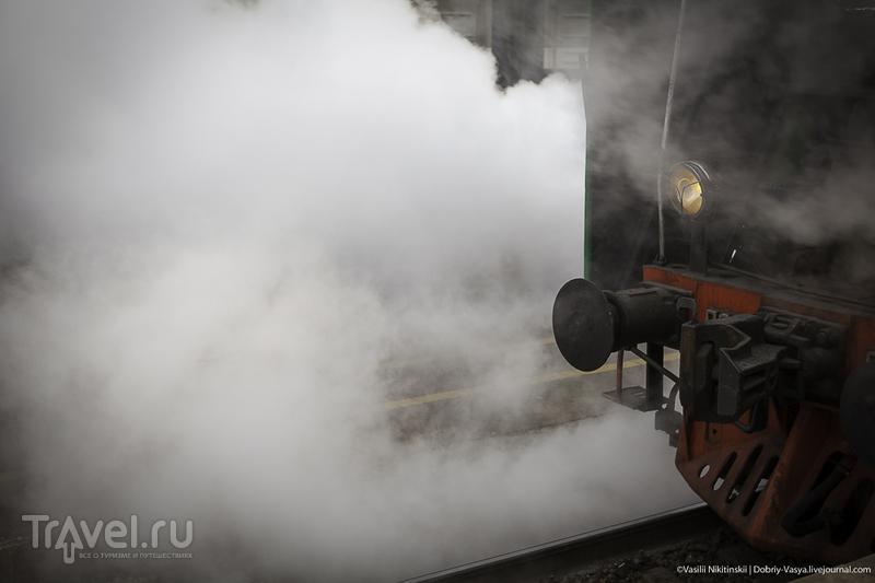 Первый туристический паровоз / Россия