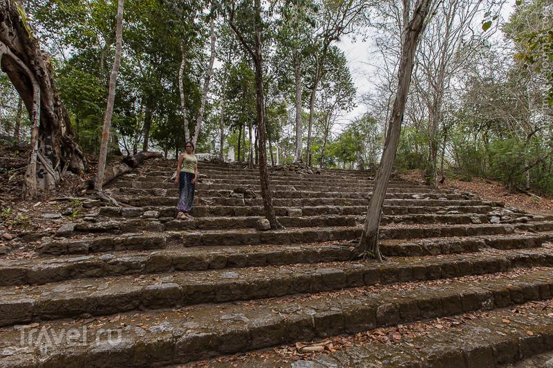 Поездка по Юкатану. Руины Калакмуль / Фото из Мексики