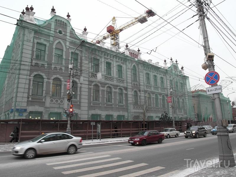 Красноярск. Дополнительные главы центра города / Россия