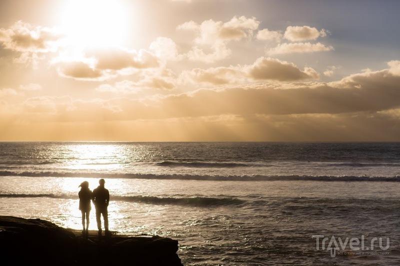 Немного солнца в холодной воде (с): Сан Диего / Фото из США