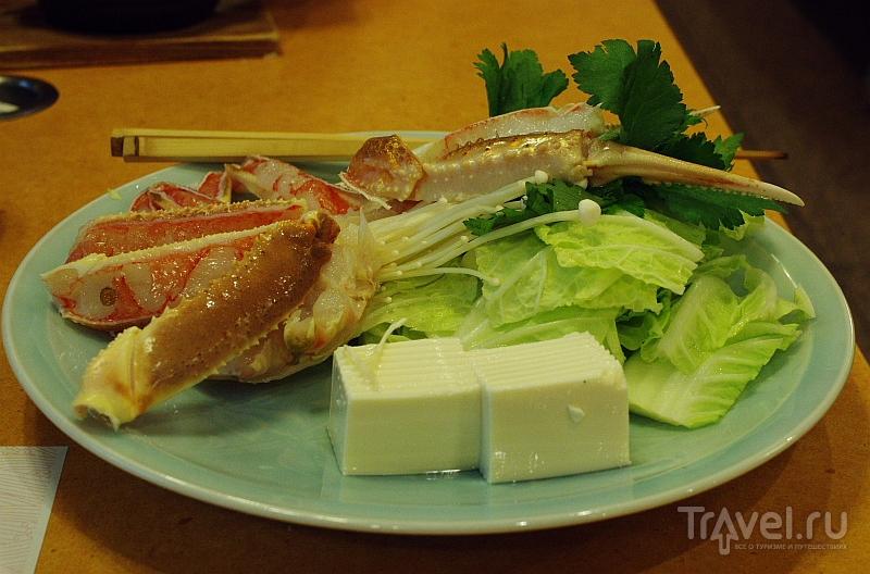 Едим в Осаке / Япония