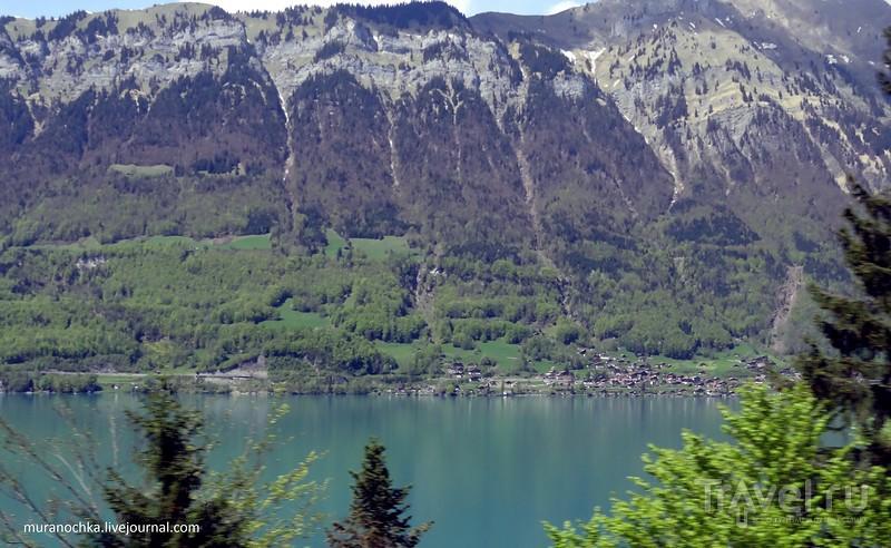 Через швейцарские Альпы / Швейцария
