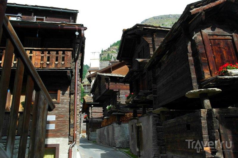 Церматт, Швейцария - Старая деревня или центр / Швейцария