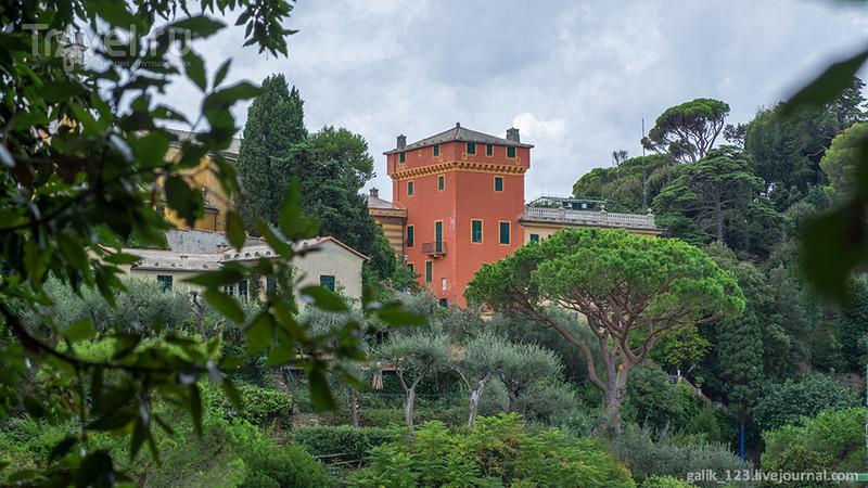 Побывать в Портофино. Парки и крепости / Италия