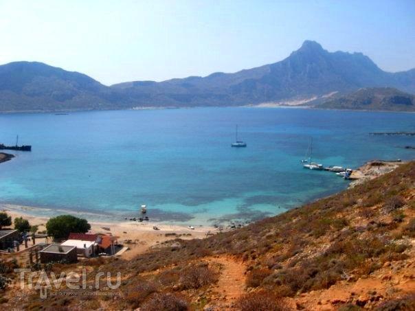 Остров Крит - бухта Балос и крепость Грамвуса / Греция