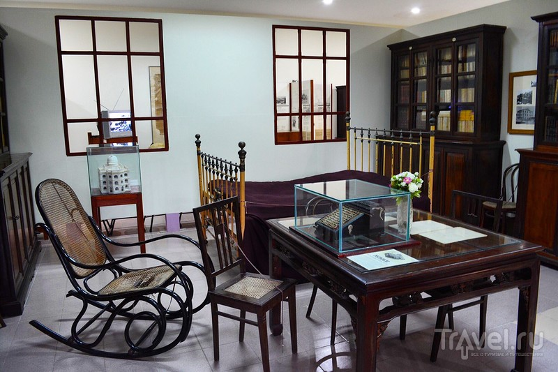 Музей Александра Йерсена. Нячанг / Вьетнам