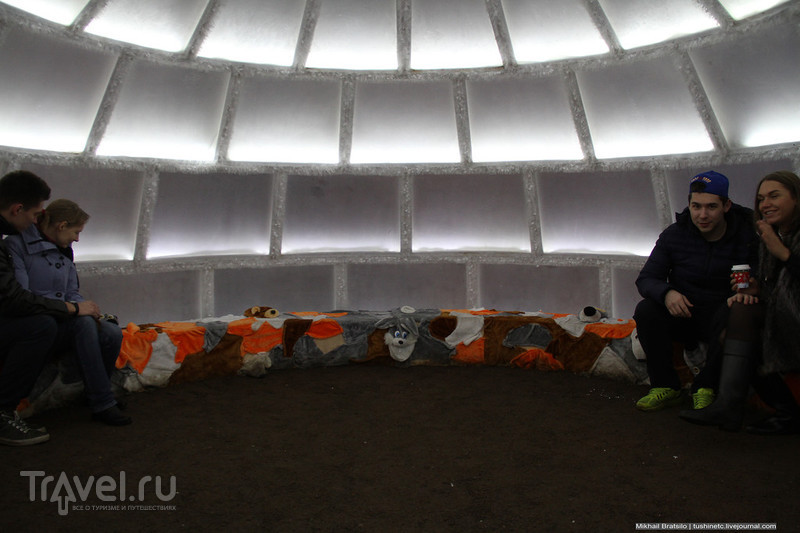 Тверской бульвар в сиянии огней / Россия