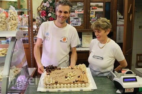 Торт как сыр. Знамениты оба / Италия