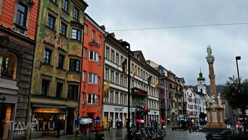 Инсбрук - столица тирольских земель / Австрия