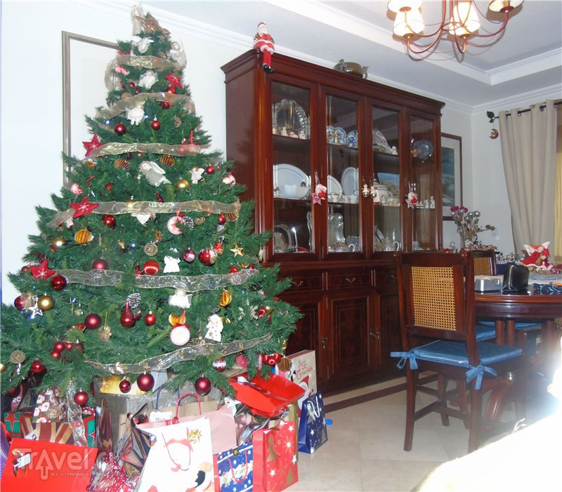 Рождественский декор по-португальски / Португалия