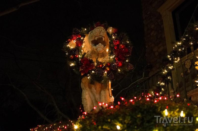 Ослепительное Рождество в Нью-Йорке: район Дайкер Хайтс / США