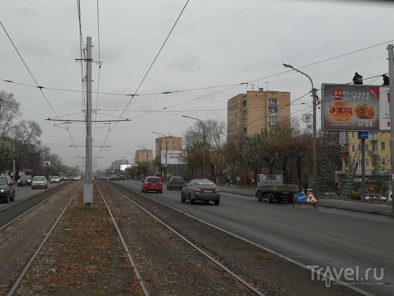 Красноярск. Правый берег Енисея / Россия