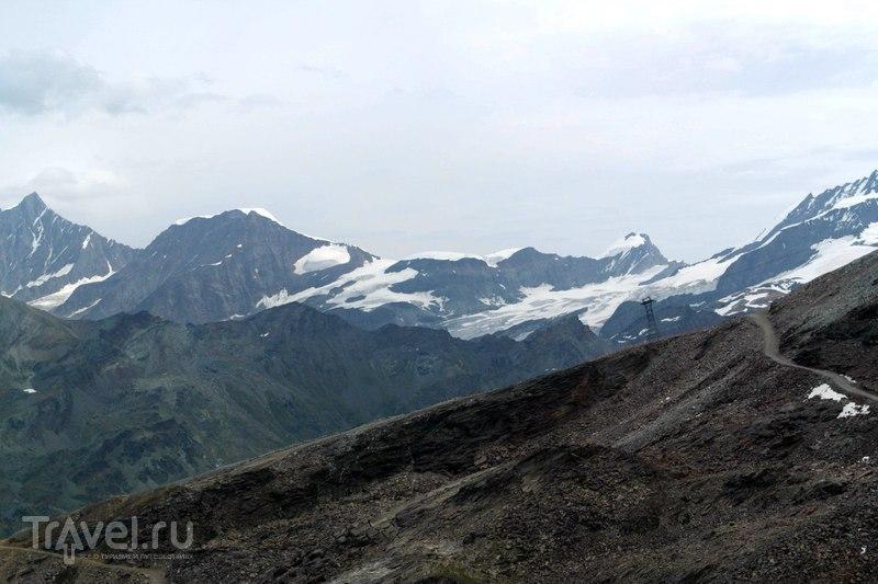 Горнерграт. Виды гор с горы высотой более 3 километров / Швейцария