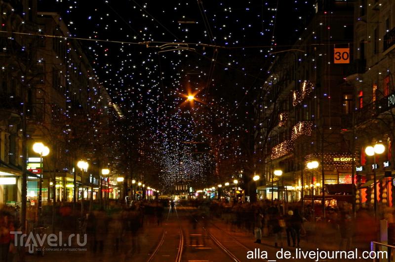 Сказочный рождественский Цюрих / Швейцария