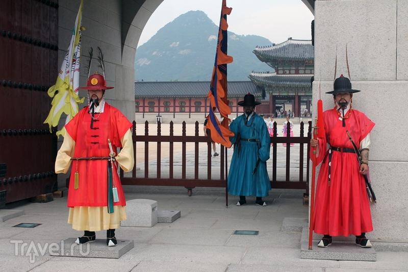 Сеул. Королевский дворец Чхандоккун / Южная Корея