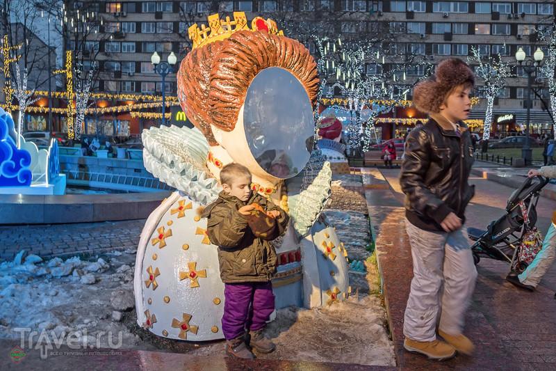 Новогодняя Москва / Фото из России