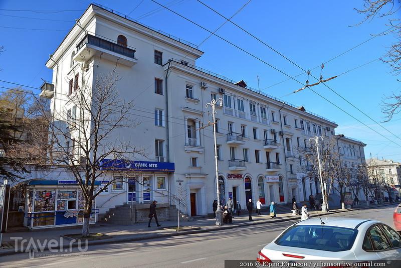 Прогулки по Севастополю. Большая Морская улица / Фото из России