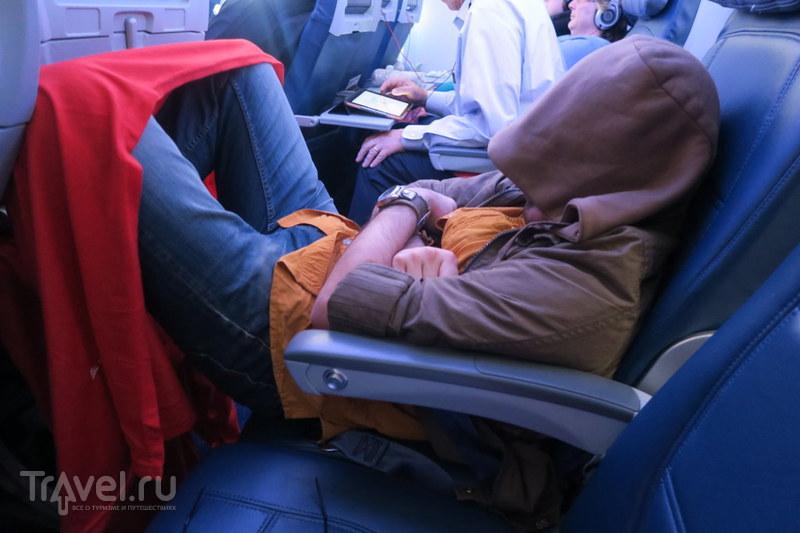 Как спать в самолётах / Китай