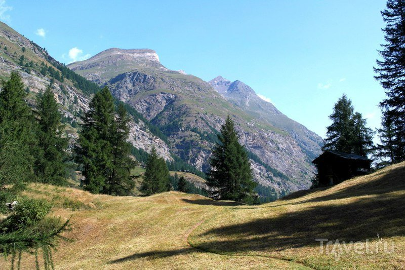 Церматт - От ущелья в поисках водопада / Швейцария