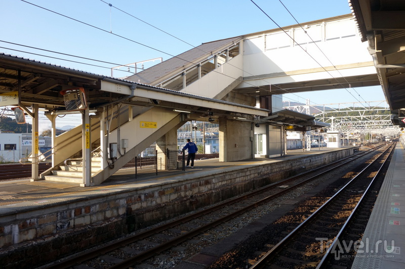 Японские железные дороги / Фото из Японии