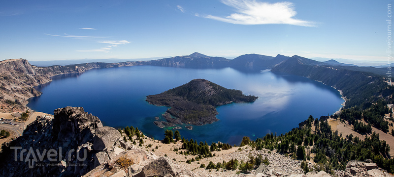 США. Национальный парк Crater Lake / Фото из США