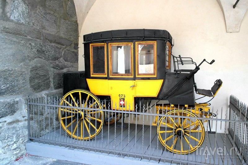 Бриг, Швейцария - дворец Штокалпера / Швейцария