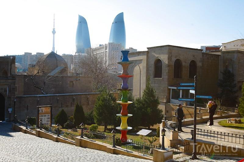 Старый новый Баку / Фото из Азербайджана