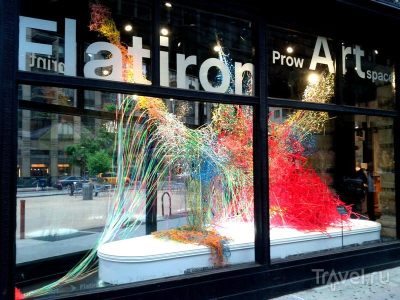Нью Йорк: Искусство на углу / Фото из США