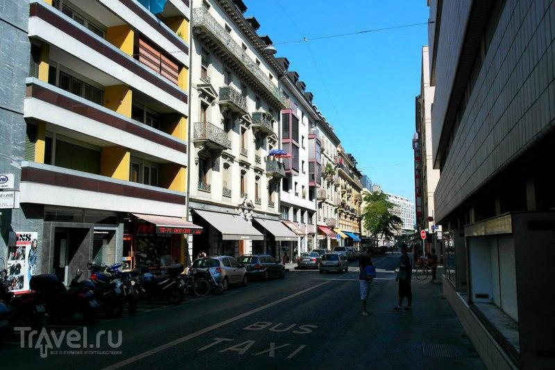 Женева - знакомство и первые впечатления / Швейцария
