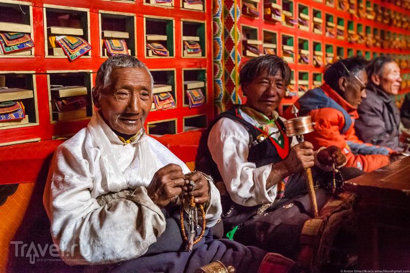 Тибет. Монастырь Chiu Gompa / Фото из Китая