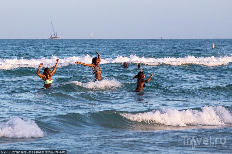 Очень жаркий Майами-Бич / Фото из США