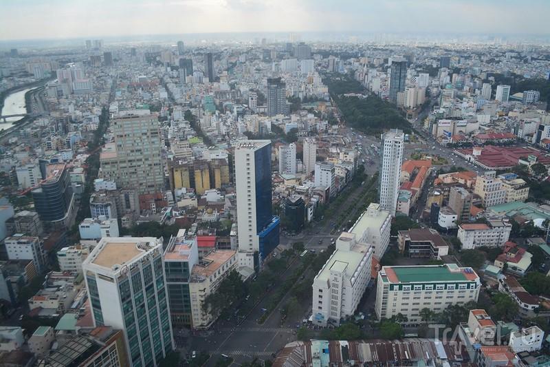 Хошимин с высоты птичьего полёта / Вьетнам