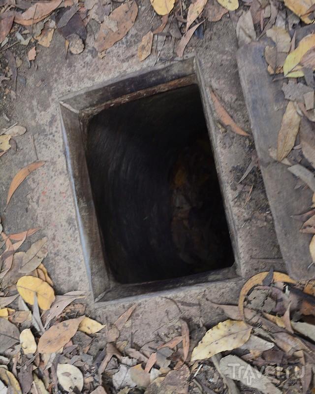 Партизанские тоннели Ку Чи / Вьетнам