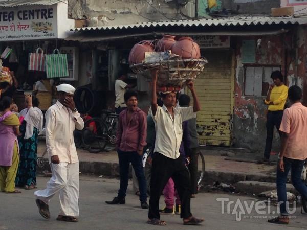 Прогулка по Бомбею: Дхоби Гхат или район прачечных / Индия