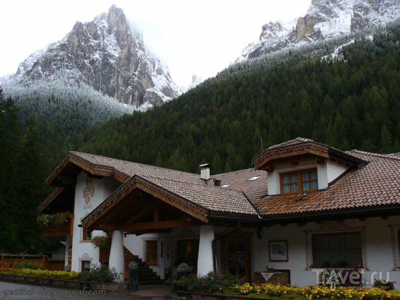 Девять дней в Доломитах. Непогода в горах, непогода... / Фото из Италии