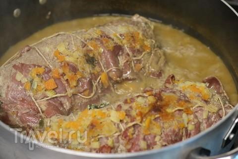 Barolo на кухне. С мясом и рисом / Италия