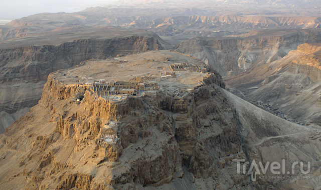 Крепость Масада