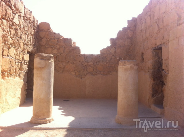 Руины Масады
