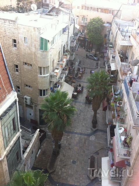 Субботний день в центре Иерусалима (шаббат)