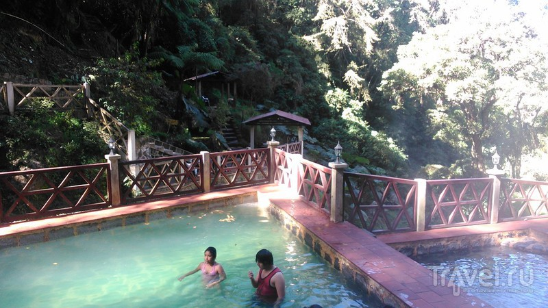 Необычные спа: Las Fuentes Georginas в Гватемале / Гватемала
