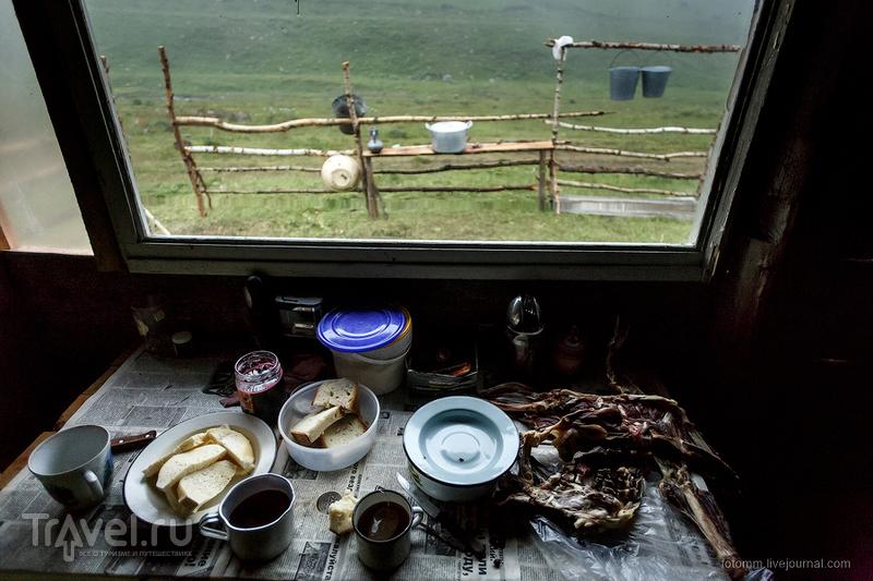 Кавказ на двух колесах. Ночевка в коше / Фото из России
