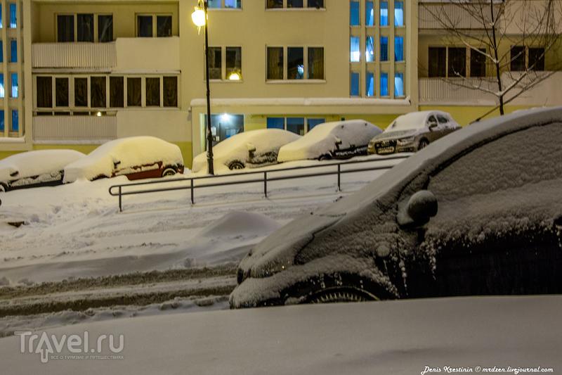 Снежного Минска пост / Белоруссия