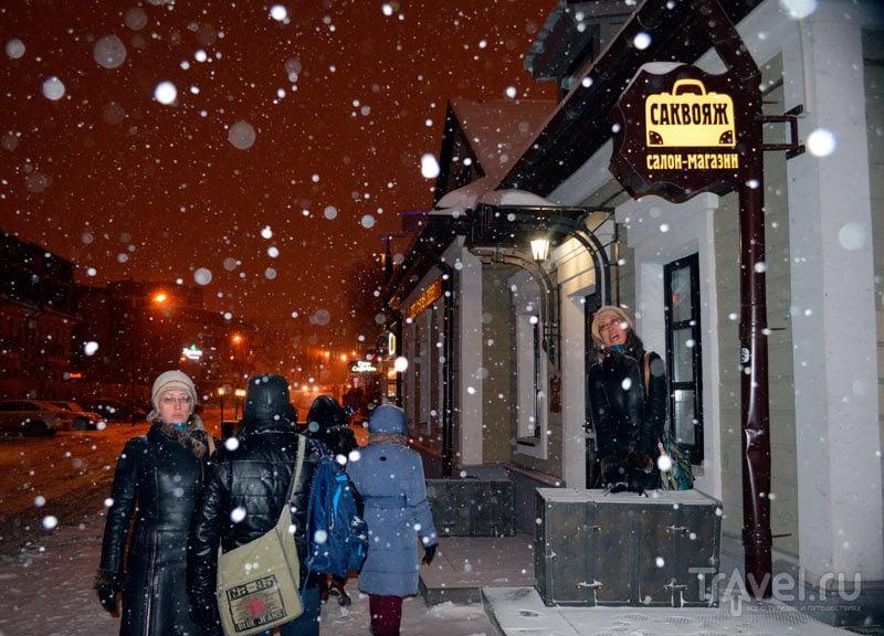 Прогулка по снежному Минску / Фото из Белоруссии