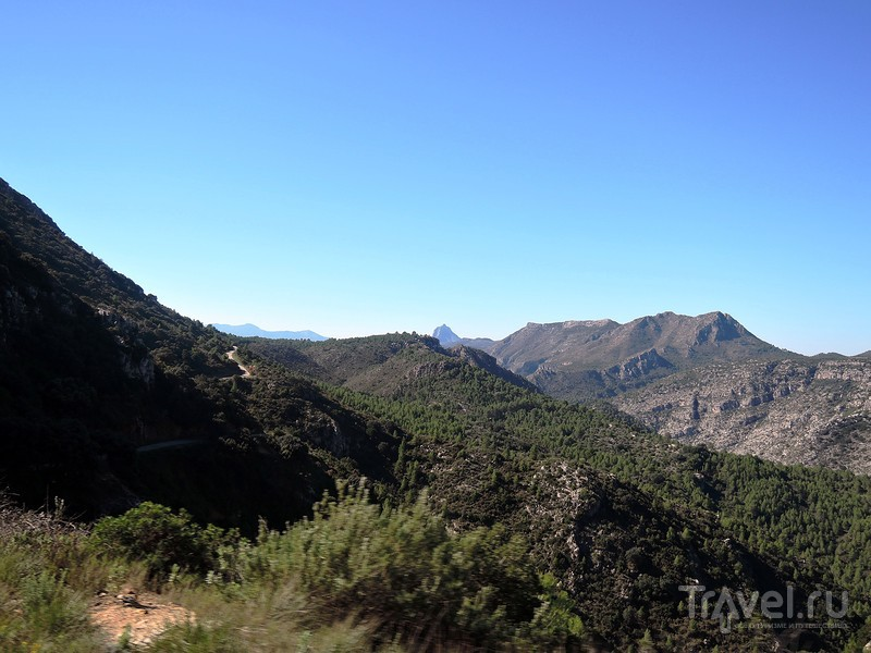 Серпис. Ла Финестра (окно в скале). Испания, осень 2015 г. / Фото из Испании