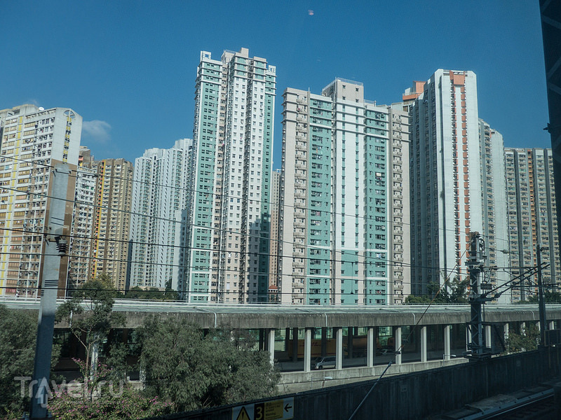 Гонконг: дорога и гостиница / Гонконг - Сянган (КНР)