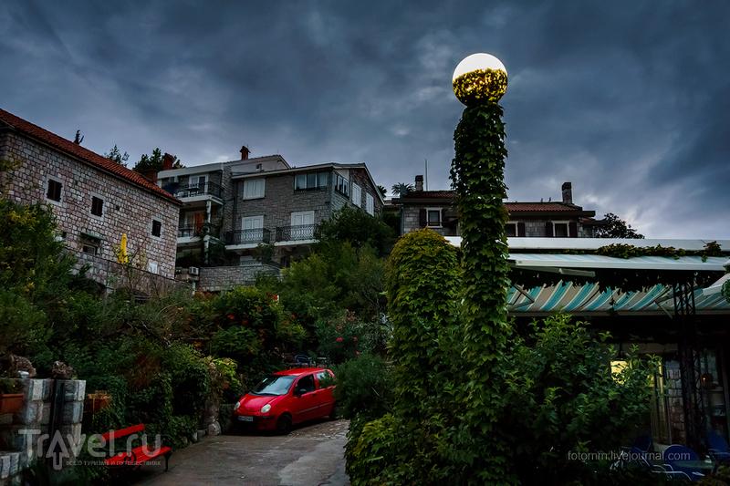 Черногория. Закат на море / Фото из Черногории