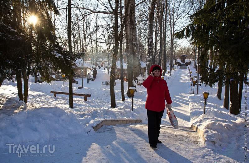 В гостях у хозяйки Гипсовой горы / Фото из России